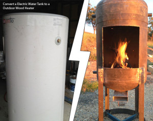 Outdoor Wood Heater