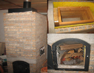 diy wood burning heater
