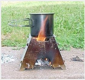 Simplest wood stove
