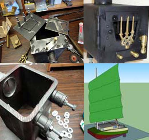 Small boat stove - 12 Homemade Wood Burning Stoves And Heaters Plans And Ideas:Do It