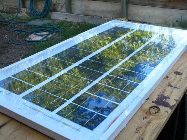 12 Homemade Solar Panel For Producing Electricity Off The