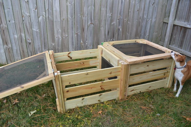25 Homemade Compost Bins For Composting Food And Yard