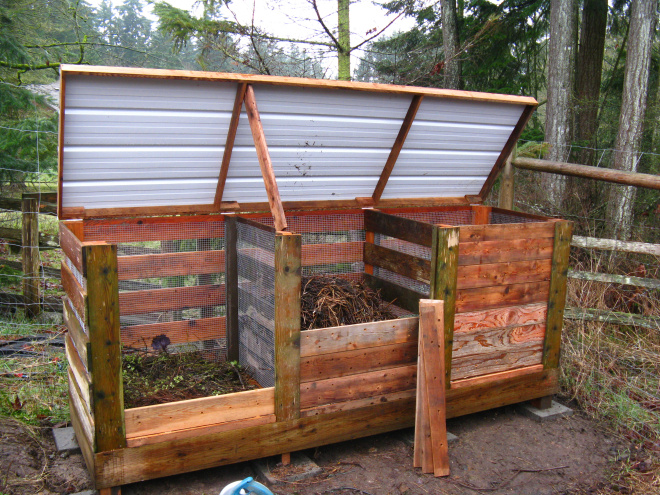 Gallery For > Homemade Compost Bin