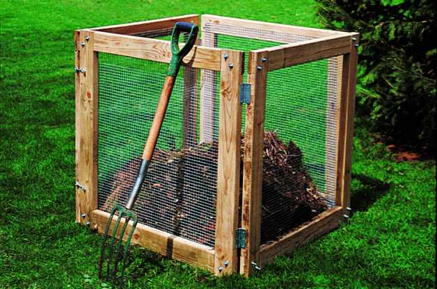 25 homemade compost bins for composting food and yard waste the