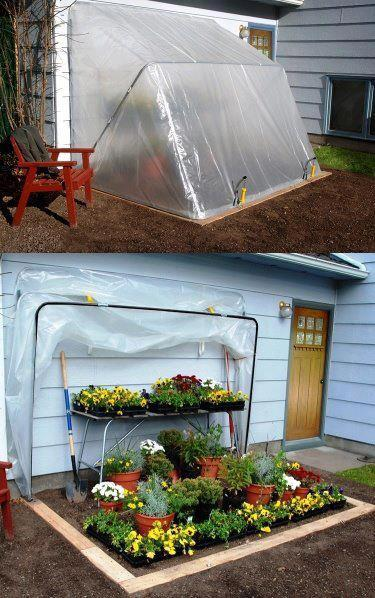 Fold Up Greenhouse