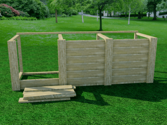 Homestead Compost Bins