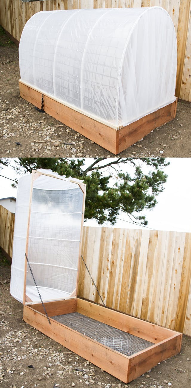 DIY PVC Greenhouse