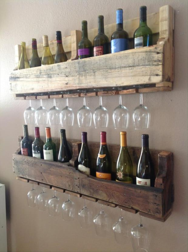 Wine and Glasss holder