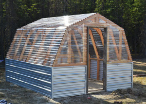 Barn Greenhouse Plan