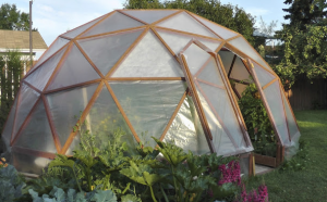 Dome Shaped Greenhouse Plans