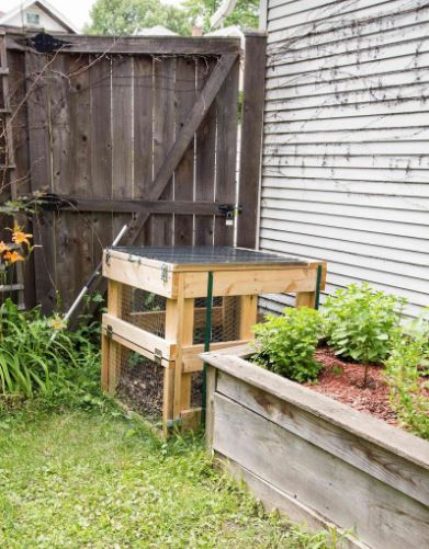 Homemade Compost Bin