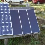 homemade solar panel