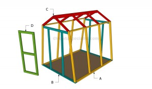 Lumber Frame DIY Greenhouse