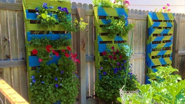pallet garden ideas - Garden Ideas With Pallets