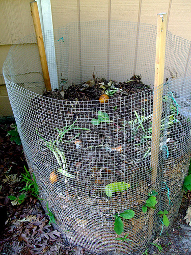 plans to build a compost bin