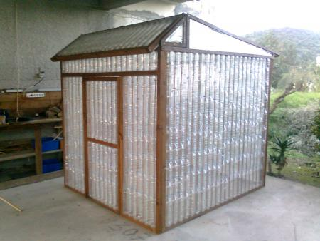 Attractive Plastic Bottle Green House