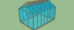 Small DIY Greenhouse