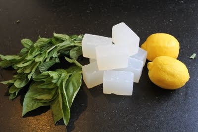 Citrus and herb soap
