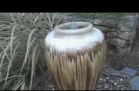 Oversized Pot fountain