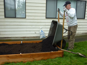 Planks And Pvc Pipe DIY Raised Bed Gardens