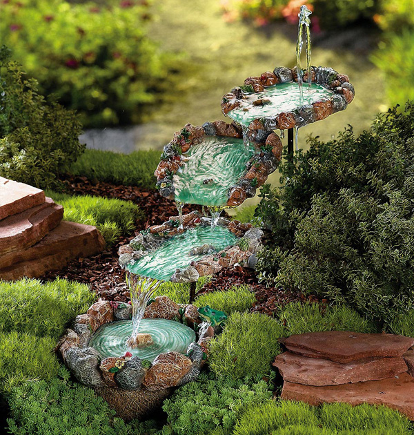 10 DIY Water Fountain For Your Garden The Self