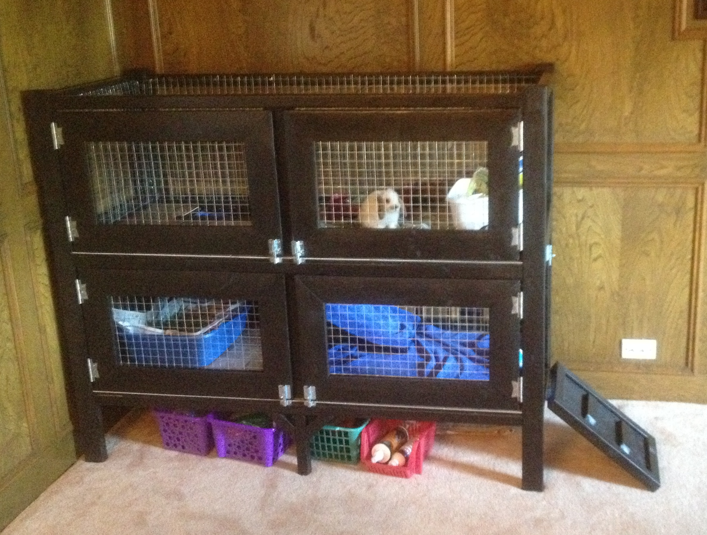25 free rabbit hutch plans you can diy within a weekend for Diy hutch plans
