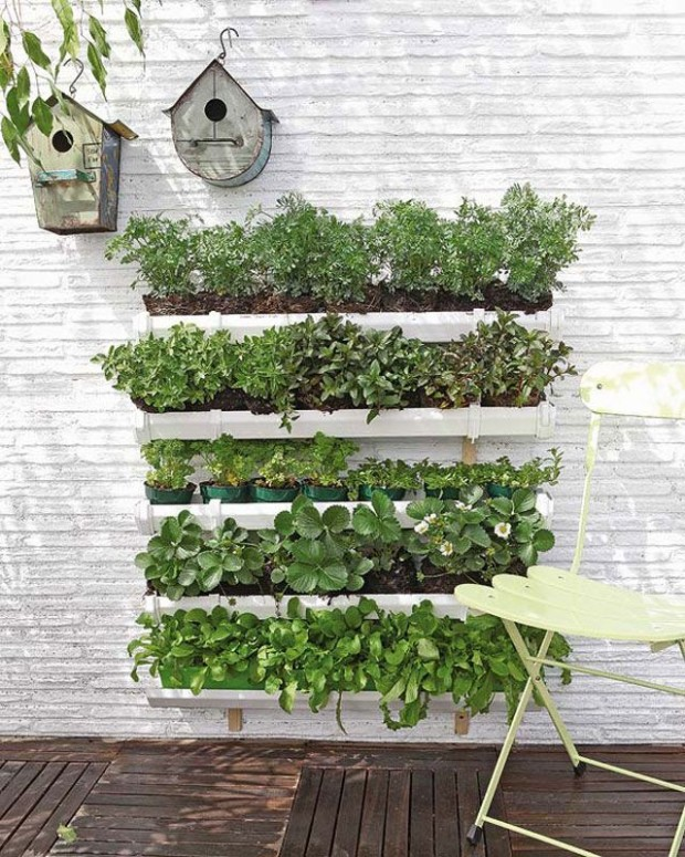 Vertical Gardening Ideas vertical garden 5 Step Wooden Plant Closet