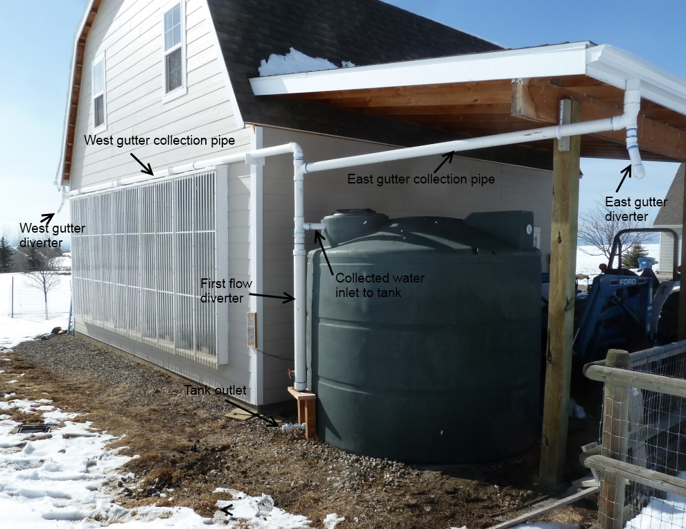 10 best diy rain barrel harvest rain water for garden for How to build a rainwater collection system