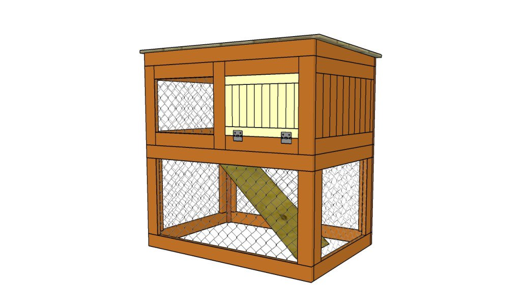Cheap Rabbit Hutch Plan