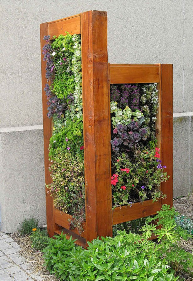 15 inspiring and creative vertical gardening ideas and for Vertical garden design