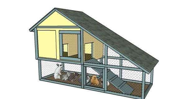 Rabbit Hutch Plans Can Diy Within Weekend