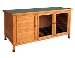 rabbit hutch with pallets