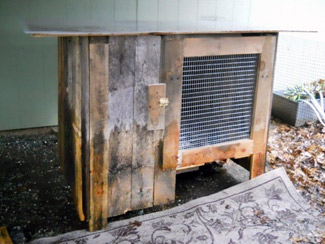 Free Rabbit Hutch Plans Made From Wood Pallet