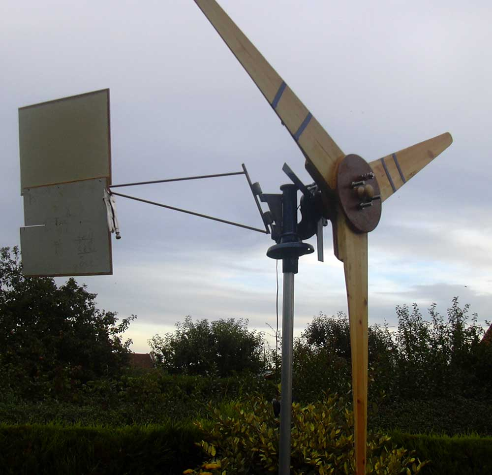 Free DIY or Homemade Wind Turbine Plans and Designs for producing ...