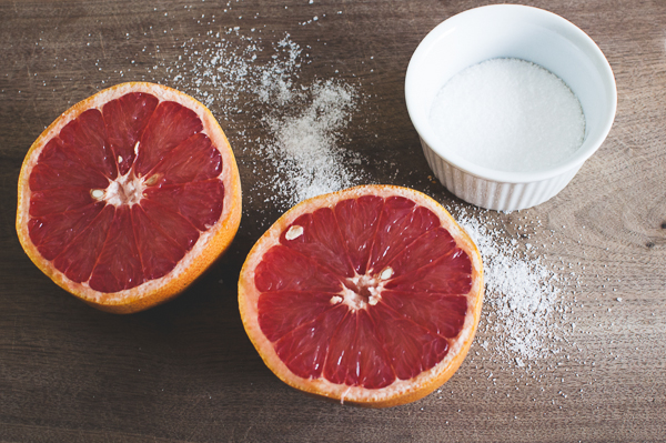 clean up with Grapefruit