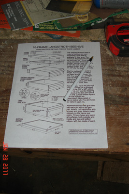 Bee Hives Plans and Supers by chris beeson