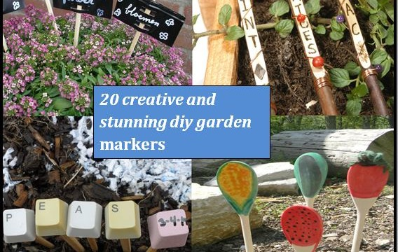 20 Creative And Stunning DIY Garden Markers And Labels The Self