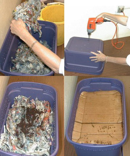 10 Helpful Worm Composting Bin Ideas and Plans - The Self ...