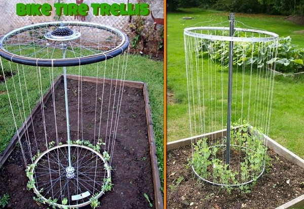 15 Inspiring DIY Garden Trellis Ideas For Growing Climbing Plants ...