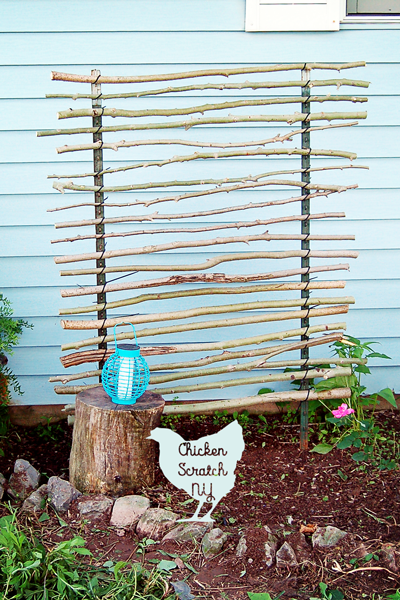 Twine and Twig Trellis