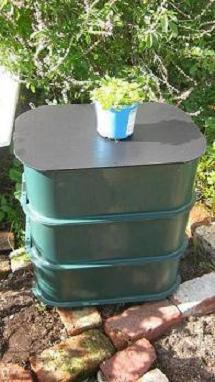 homemade worm composting bin