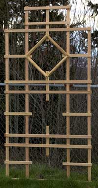 Trellis Design Ideas garden arbor plans designs Wooden Maze