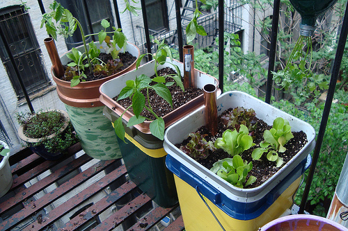 12 innovative self watering planters ideas and tutorials the self sufficient living