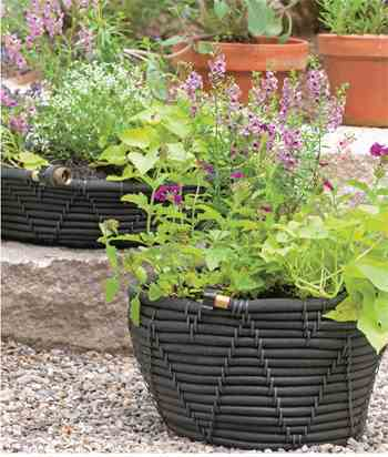 Planter pot that will water itself