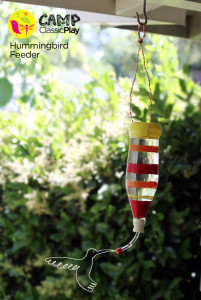 Camp Classic Play Hummingbird-Feeder
