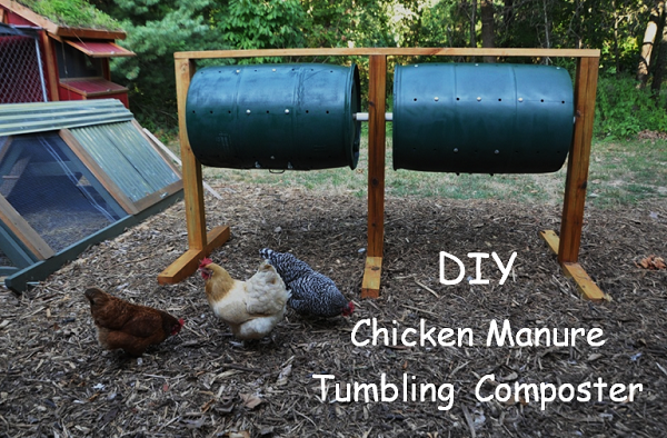 Chicken Manure Tumbling Composter
