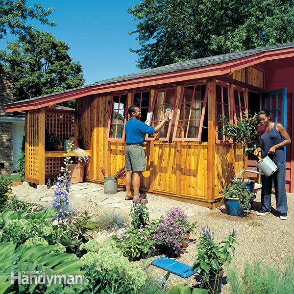 10 inspiring garden shed plans and ideas do it yourself for Steps to building a house yourself