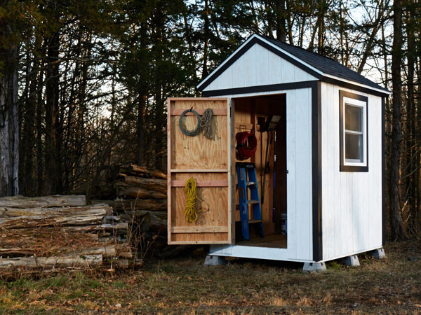 10. A simple shed from scratch: