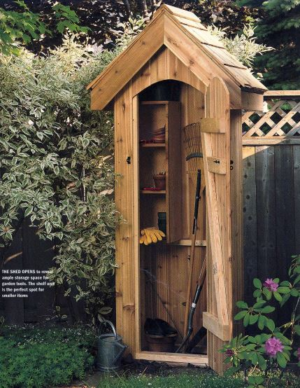 All-Purpose Storage Shed Plans