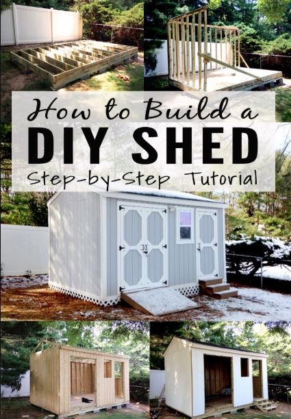 Backyard Storage Shed For Mower